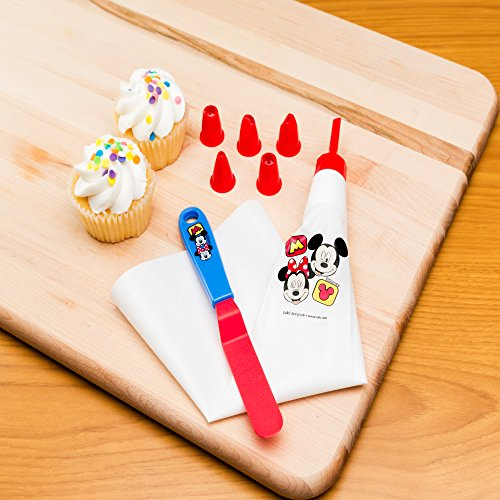 Zak Designs Mickey & Minnie Mouse Frosting Bag and 6 Tips for Cooking with Kids, Mickey & Minnie by Zak Designs (Image #2)