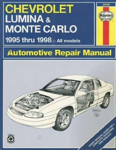 chevrolet lumina \u0026 monte carlo automotive repair manual 1995 chevy cars 96 chevy lumina engine diagram wiring