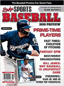11801cba993 Lindy s 2019 Pro Baseball Preview - Milwaukee Brewers   Minnesota Twins   Lindy s Sports  Amazon.com  Books