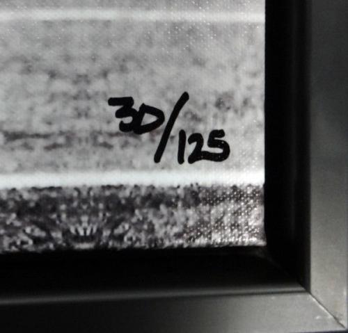 Richard Sherman Autographed Signed Framed 20x30 Canvas Photo Tip /125 Rs 94468 Autographed NFL Art