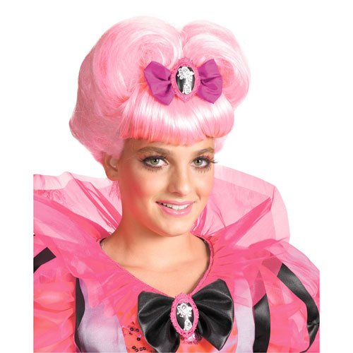 Wig Girls Pink Heart (Decayed Couture Pink Heart Wig, Pink, One)