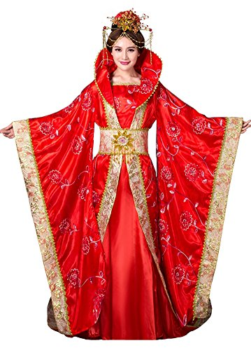 springcos Chinese Dress Costumes Women Fancy Party