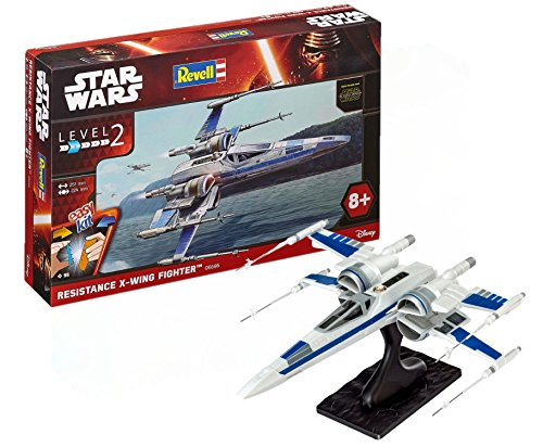 Revell Star Wars Easykit Episode Vii The Force Awakens  Resistance X Wing