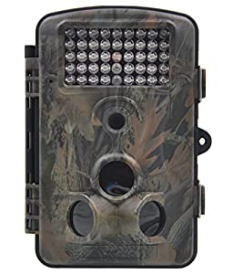 "XIKEZAN 1080P HD Mini Game and Trail Camera 12MP Wildlife Hunting Trail cam Motion Activated Long Range Infrared Night Vision Game Cameras with Time Lapse & 2.4"" LCD Screen"
