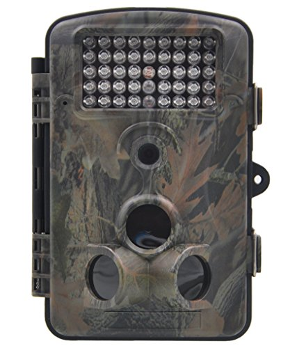 XIKEZAN 1080P HD Trail & Game Camera,12MP Mini Night Vision Wildlife Camera with Time Lapse & 2.4