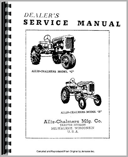 Download Allis Chalmers IB Tractor Service Manual PDF