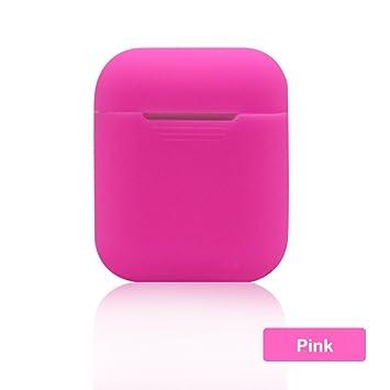 DANMEI - Carcasa de Silicona para Apple Airpods (Incluye Protector de Pantalla), diseño de Auriculares inalámbricos: Amazon.es: Electrónica