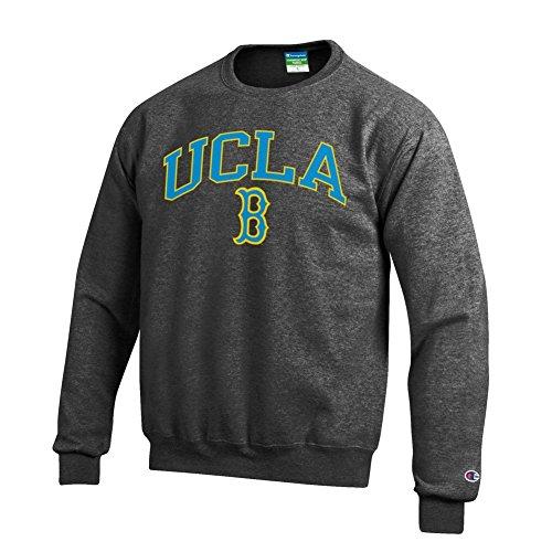 - Elite Fan Shop NCAA UCLA Bruins Men's Crewneck Charcoal Gray Sweatshirt, Dark Heather, X-Large