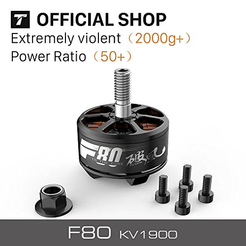 T-Motor F80 KV1900 High-Performance Brushless Electric Motor for Multi-Rotor Aircraft (Aircraft Electric Motors)