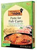 Kitchens Of India Paste, Fish Curry, 3.5-Ounces (Pack of 6)