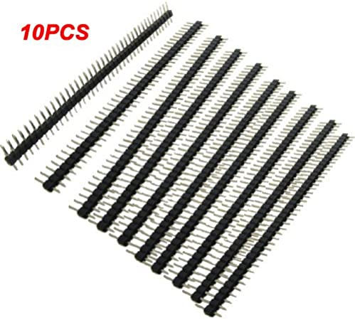 Einzelne Reihe Stiftleiste Toogoo 10 Pcs 40 Pin 1 X Elektronik