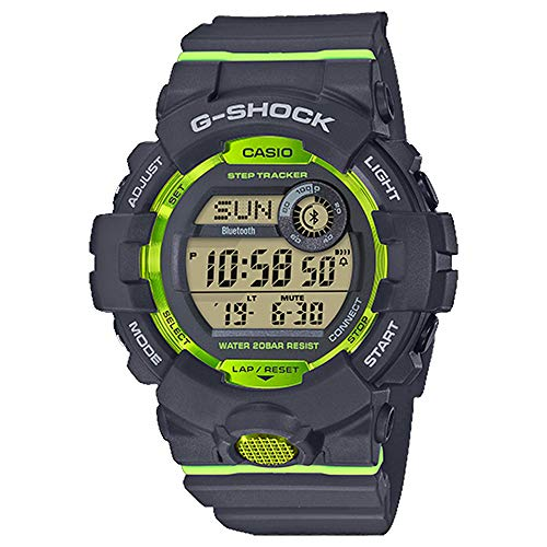 G-Shock Men's GBD800-1 Bluetooth G-Squad Digital Watch