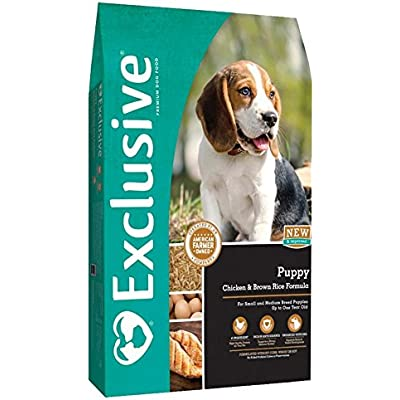 Exclusive   Nutritionally Complete Puppy Food   Chicken and Brown Rice Recipe - 30 Pound (30 lb) Bag