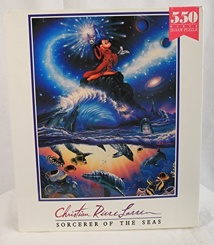Christian Riese Lassen 550 Piece Disney Themed Puzzle: Sorcerer of the Seas