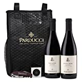 Parducci-Wine-Cellars-Pinot-Noir-and-Grenache-Gift-Set-with-wine-tote-corkscrew-and-capabunga-2-X-750-ML