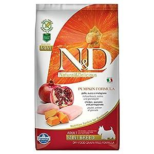 Farmina N&D Grain Free Pumpkin Chicken and Pomegranate Adult Food, 2.5 kg (Mini)