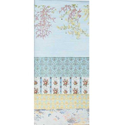 Dollhouse Miniature 18-Sheet Blue Wallpaper Assortment, Baby & Kids Zone