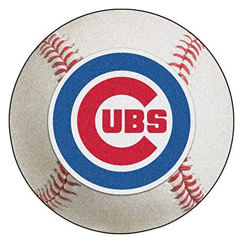 (FANMATS MLB Chicago Cubs Nylon Face Baseball Rug)