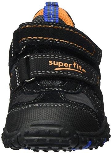 Superfit Jungen Sport4 Sneaker Schwarz (Schwarz Multi)