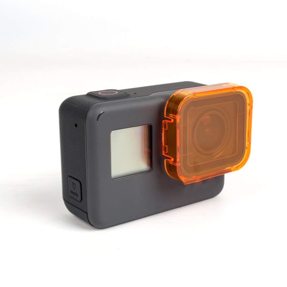 WARMTOWE immersioni filtri lenticolari compatibile con gopro eroe 5 immersioni sportive lente filtro per vari video e fotografia subacquea condizioni