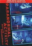 Paranormal Activity 1 / 2 / 3 (colección de tres películas)
