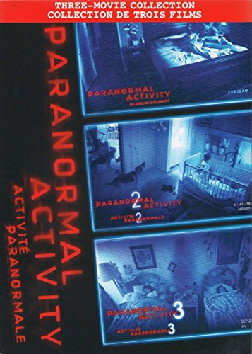 Paranormal Activity 1 / 2 / 3 (Three-Movie Collection)