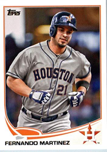 2013 Topps #598 Fernando Martinez Astros MLB Baseball Card NM-MT