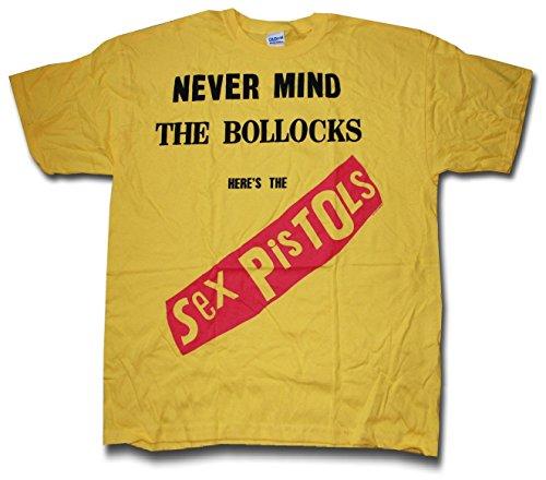 The Sex Pistols Yellow 'Nevermind The Bollocks' T-Shirt ()