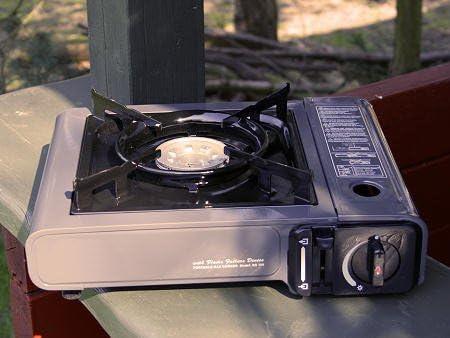 Com Gas Bs-102 Cocina compacta, Cartucho de Gas Incorporado ...