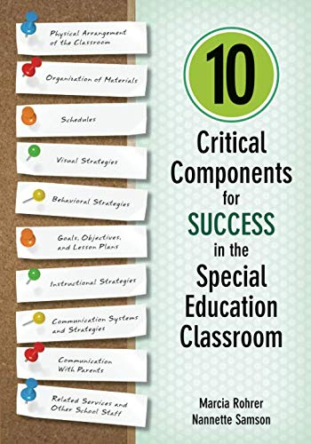 10 Critical Components for Success in the Special Education ()