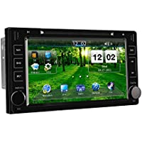 Toyota Sienna 2015 2016 2017 GPS Navigation System, Bluetooth 8 Inch Touchscreen Car Radio In-dash GPS Navigation with MirrorLink, FA/AM, AUX, USB/SD, CD/DVD Video Audio Stereo Multimedia Player