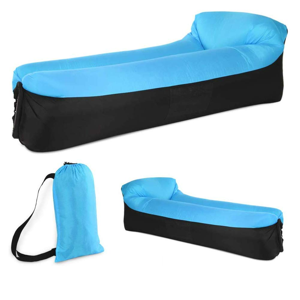 BUYOOKAY Inflatable Lounger,Best Air Lounger for Travelling, Camping, Hiking - Ideal Inflatable Couch for Pool and Beach Parties - Perfect Air Chair for Picnics or Festivals by BUYOOKAY