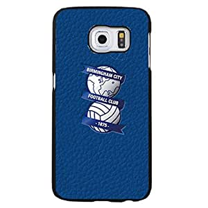 Mint Blue Leather Background Birmingham City Football Club Phone Case Best Snap-On Cover For Samsung Galaxy S6 Edge Plus