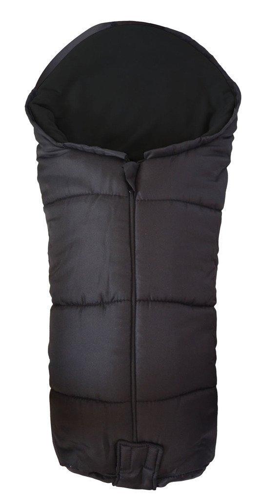 Deluxe//Chanceli/ère cosy orteils Compatible avec Koochi Sneaker Poussette Noir
