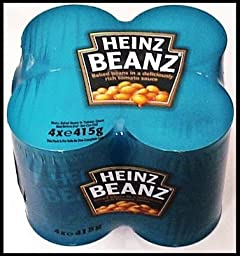 Heinz Baked Beans 415g 4 Pack (England)