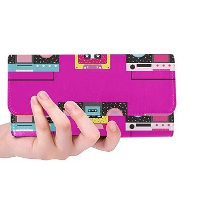 Cinta de Cassette Personalizada única Boombox Cartera Triple ...