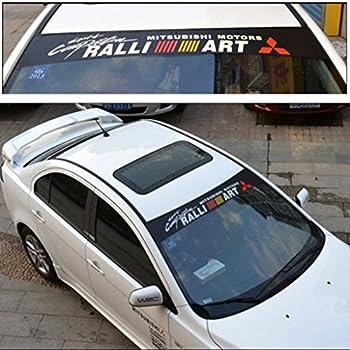 MITSUBISHI Decal Window sticker vinyl graphic eclipse evo 9 10 banner logo jdm**