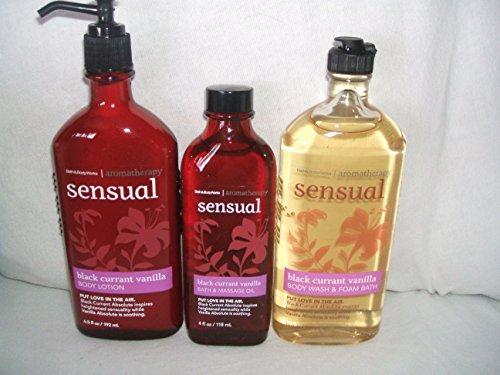 Works Aromatherapy BLACK CURRENT VANILLA Body oz Body oz Massage product image