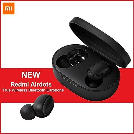 4bf690609f3 Xiaomi Redmi Airdots, TWS Bluetooth 5.0 Earphone Stereo Bass Wireless  Headphones 300mAh Charging Box True