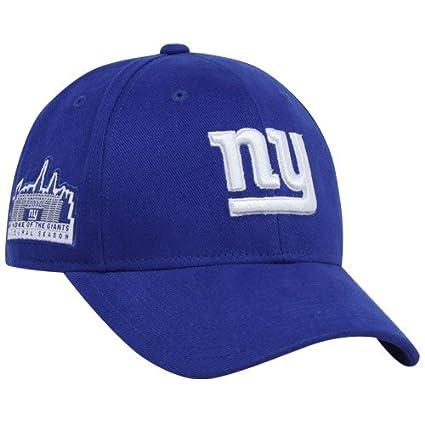 9d72b073d43 Amazon.com   Reebok New York Giants Royal Blue Inaugural Season ...