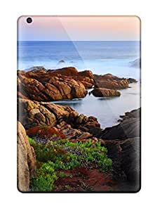 New Arrival Cover Case With Nice Design For Ipad Air- Canal Rocks BY icecream design