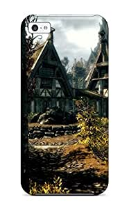 ZlDvauo139CSRUC Tpu Phone Case With Fashionable Look For Iphone 5c - Skyrim