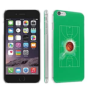 Skinguardz Iphone 6 (4.7) (BasketBall) Ultra Slim Light Weight Plastic Cover Case