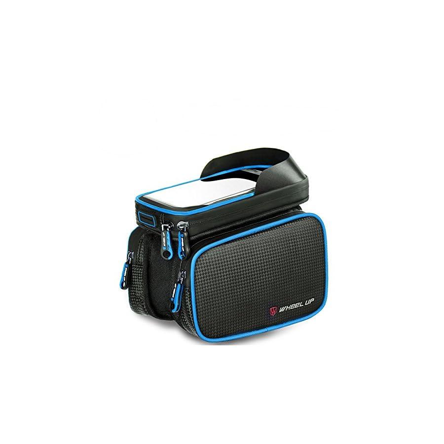 Abonnylv Waterproof Road Bicycle Smartphone Bag for Bike Accessories