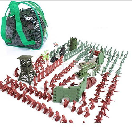 238pcs BOYS TOYS PLASTIC COMBAT MISSION TOY SOLDIERS BAG PARTY BAG FILLERS by uptogethertek