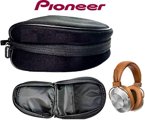 Pioneer Headphone Case Storage Bag Waterproof Zipper Travel Portable Headphone Carrying Case, Perfectly Fit FOR Pioneer SE-MS7BT SE-MS9BN-B SE-MS5T T AND MORE BLACK