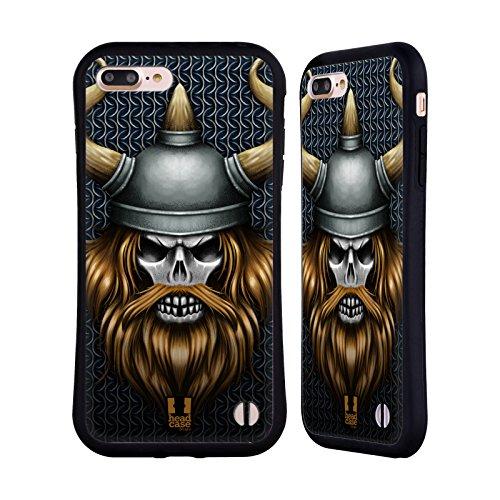 Head Case Designs Viking Skull Warriors Hybrid Case for iPhone 7 Plus/iPhone 8 Plus