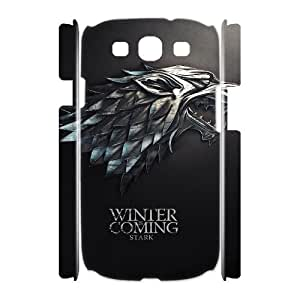 YUAHS(TM) Personalized 3D Hard Back Phone Case for Samsung Galaxy S3 I9300 with Game of Thrones YAS139546