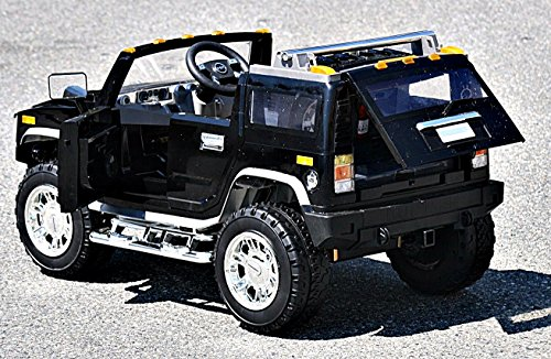 Electric Battery Operated Ride On Car for Kids HUMMER H2 ...