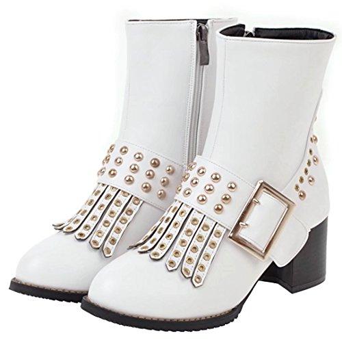 AIYOUMEI White AIYOUMEI AIYOUMEI Classic Boot Classic Women's Boot Boot White Classic Women's Women's f8q4Z4